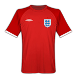Trikot England Fussball 2010-11 World Cup Away