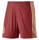 Shorts Spanien Fussball 2014-15 Home World Cup