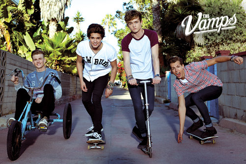 Poster The Vamps Band