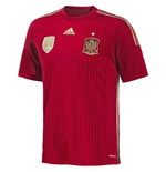 Trikot Spanien Fussball 2014-15 Home World Cup für Kinder