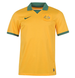 T-Shirt Australien Fussball 2014-15 Australia Home World Cup