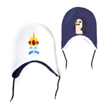 Adventure Time Ski Beanie Wechselseitig - Gunter Ice King