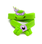 Gummiarmband Ninja Turtles Donatello