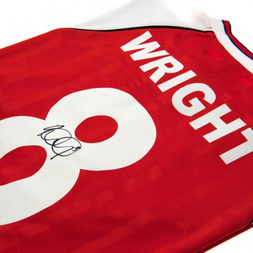 Trikot Arsenal F.C. Wright Signed T-Shirt