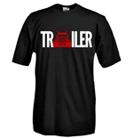 Round necked t-shirt with flex printing - Trailer
