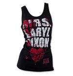 Top Der wandelnde Leichnam  Mrs. Daryl Dixon Blood Splatter