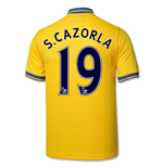 Trikot Arsenal 2013-14 Away (S.Cazorla 19)