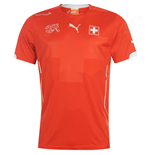 Trikot Schweiz Fussball 2014-15 Home World Cup