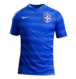 T-Shirt Brasilien Fussball 2014-15 Away World Cup