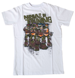 T-Shirt Ninja Turtles  In Training - für Kinder 164/170cm