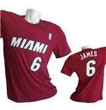 T-Shirt Miami Heat Lebron James