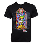 T-Shirt Nintendo  The LEGEND OF ZELDA Wind Waker Stained Glass