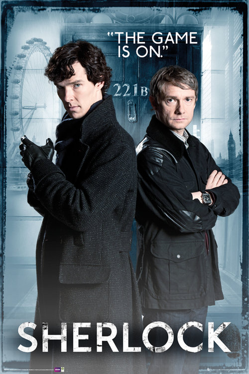 Maxi Poster Sherlock Homes