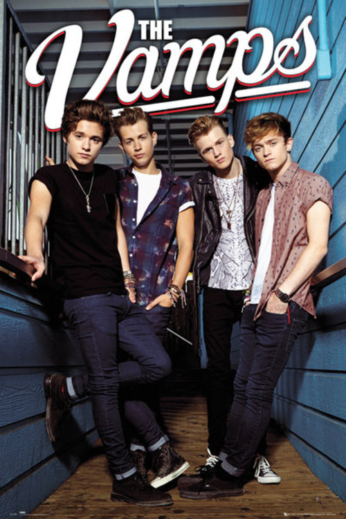 Poster The Vamps Standing