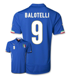 Trikot Italien 2014-15 World Cup Home (Balotelli 9)