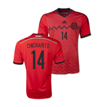 Trikot Méxiko 2014-15 World Cup Away (Chicharrito 14) für Kinder