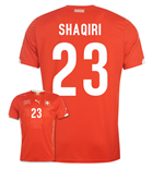 Trikot Schweiz 2014-15 World Cup Home (Shaqiri 23)