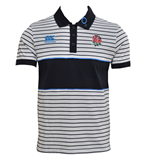 Poloshirt England Rugby 2013-14 Stripe