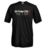 Round necked t-shirt with flex printing - GOTHAM CREW