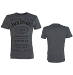 T-Shirt Jack Daniel's Classic Black Logo Medium