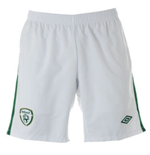 Shorts Irland 2010-11 Umbro Home für Kinder