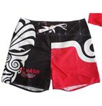 Badehose All Blacks - Maori rot