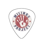 "Fender ""Medium"" Guitar Pick - Milingo Project"