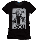 T-Shirt Star Wars - Yoda - May The Force Be With You