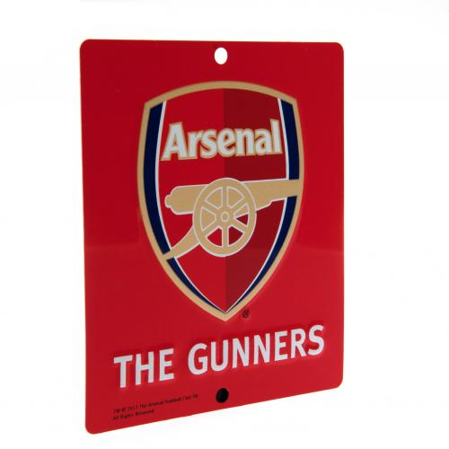 Metall Fenster Schild Arsenal