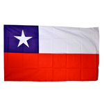 Flagge Chile Fussball