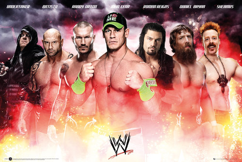 Poster WWE  Collage 2014 Maxi Poster