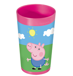 Peppa Pig Trinkbecher (270 ml) 7x7x13 cm