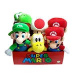 Super Mario Bros. Plüschfiguren 20 cm Sortiment (6)