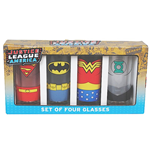Justice League Saftgläser 4er-Pack