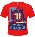 T-Shirt Transformers We Can Change