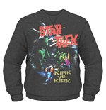 Sweatshirt Star Trek Kirk Vs. Kirk