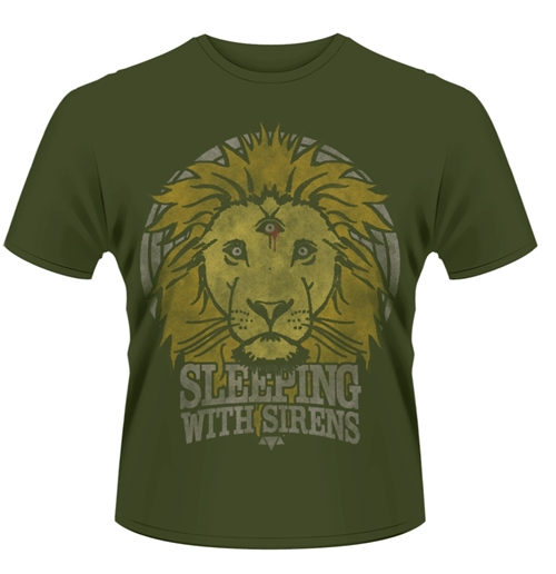 T-Shirt Sleeping with Sirens Lion Crest