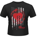 T-Shirt Rise Against Stained Flag