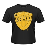 2000AD Judge Dredd T-Shirt BADGE