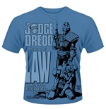 2000AD Judge Dredd T-Shirt HE IS THE LAW