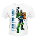 2000AD Judge Dredd T-Shirt I AM THE LAW 2