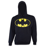 Sweatshirt Batman Logo in Schwarz