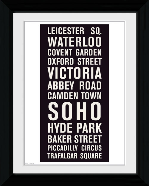 Poster London 122544