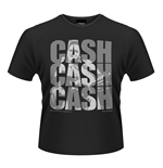 T-Shirt Johnny Cash - Cash Cash Cash