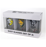 Metal Gear Solid Schnapsgläser 3er-Pack Set I