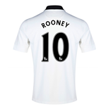 Trikot 2014-15 Man Utd Away (Rooney 10) - für Kinder