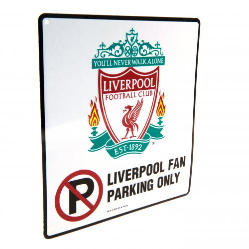 Schild Liverpool FC No Parking