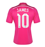 Trikot 2014-2015 Real Madrid Away (James 10) - für Kinder