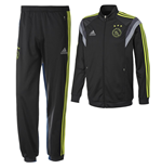 Trainingsanzug 2014-2015 Ajax Adidas PES (Dark Shale) - für Kinder