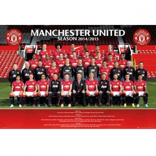 Poster Manchester United FC 124394